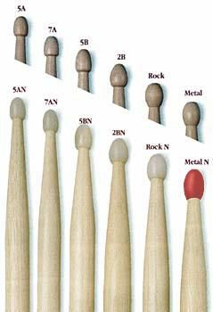 drumstick-sizes